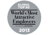World's Most Attractive Employers 2013